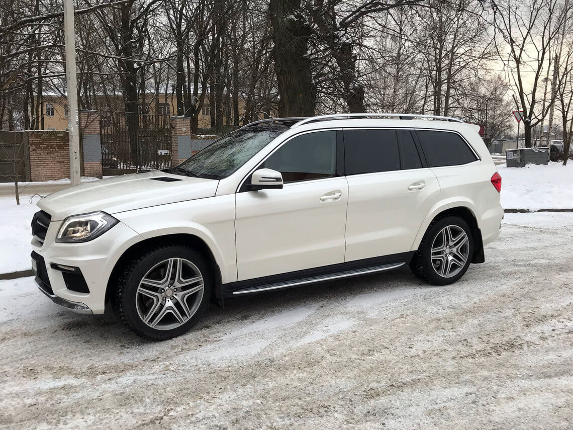 Mercedes gl new в СПБ
